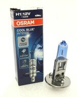 Лампа  55 W (H 1) OSRAM + 20% 4200K Cool Blue Intense (1шт.) картон 64150 CBI