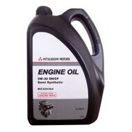 MITSUBISHI 5/30 п/син. Engine Oil Semi Synthetic масло моторное 4л. (Сингапур, пласт. банка) MZ-3203